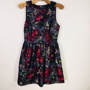 Felicity & Coco Floral Fit Flare A Line Dress XS